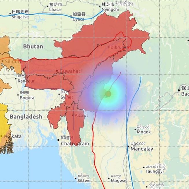 Manipur: Mild earthquake of 4.0 intensity hits Ukhrul, no casualty reported