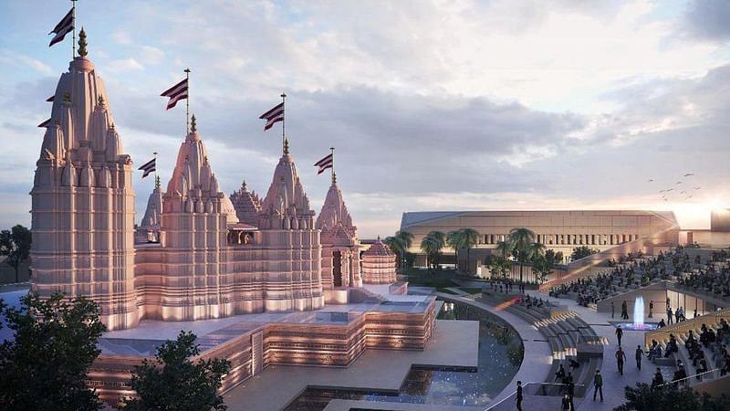 Watch: First images of the final design of Abu Dhabi's first Hindu temple