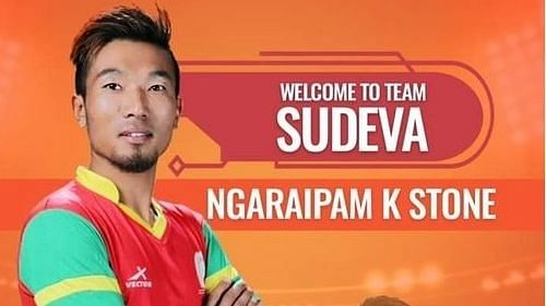 Manipur:Ngaraipam Kasomhung to debut for Sudeva Delhi FC in I-League