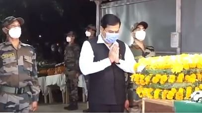 Martyred soldier's family to get Rs 20 lakh: Assam CM Sarbananda Sonowal