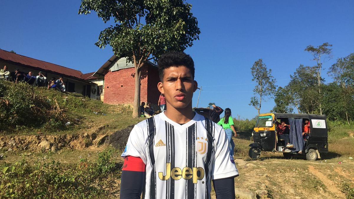 Meet Bijay Chhetri, a defender from Manipur who will play for Chennai City FC in I-League