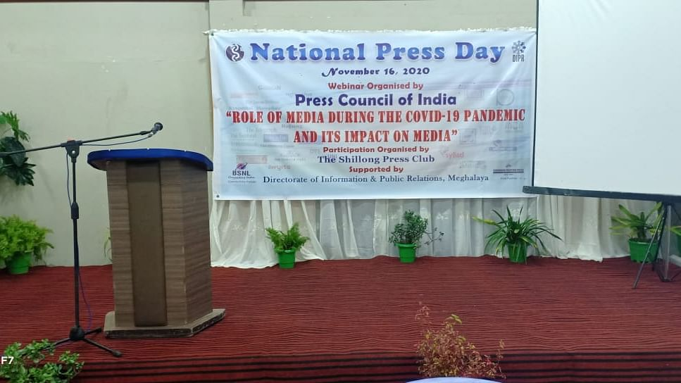 Meghalaya: Role of Media highlighted during COVID-19 on National Press Day