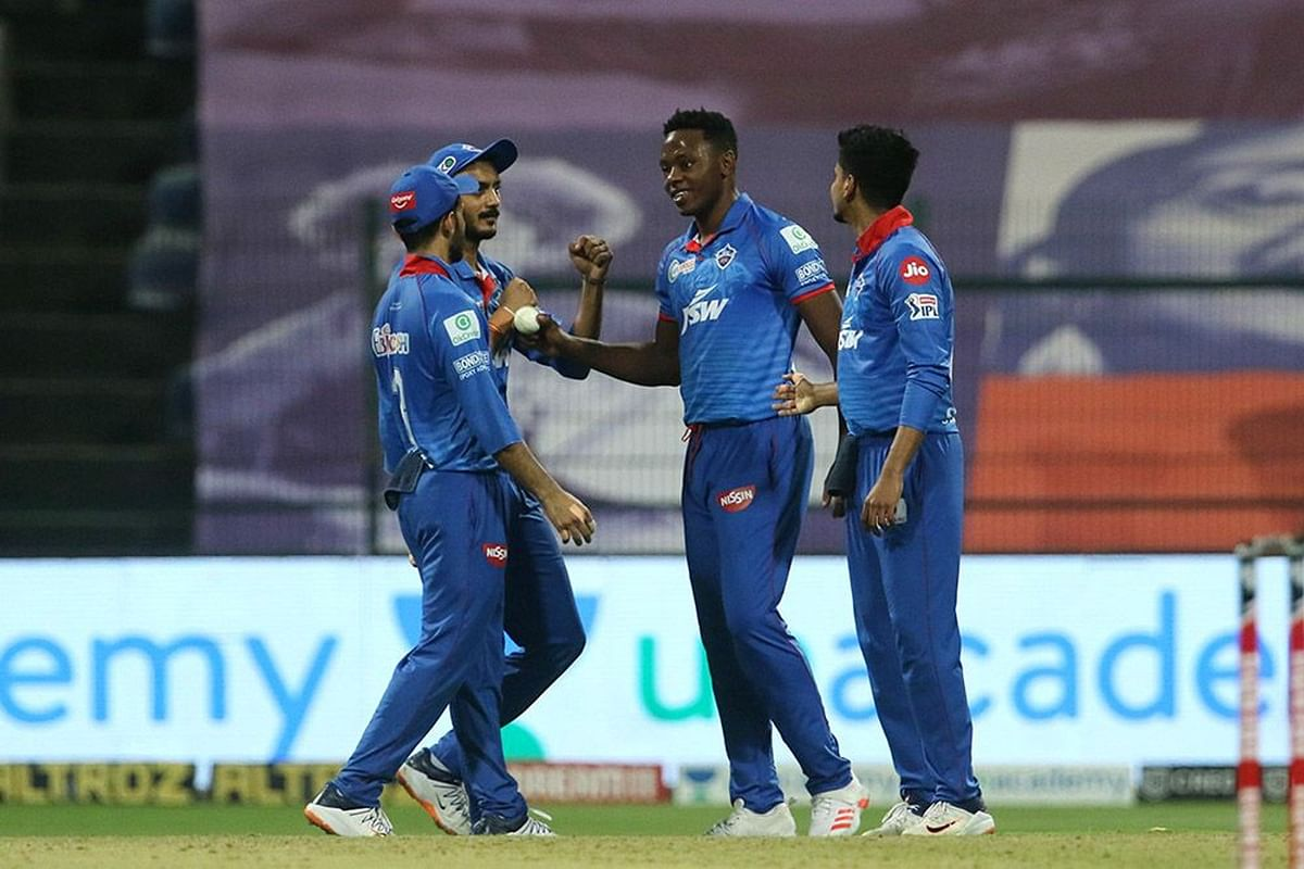 Kagiso Rabada picked up three wickets in the 19th over