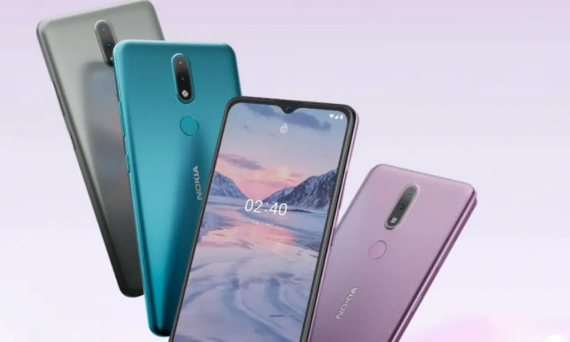 The Nokia 2.4 comes with a 6.5-inch 720p display with a waterdrop notch at the top