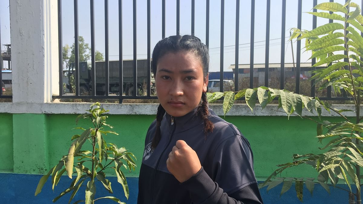 With an iron fist, this young MMA fighter from Manipur has eyes set on global arena