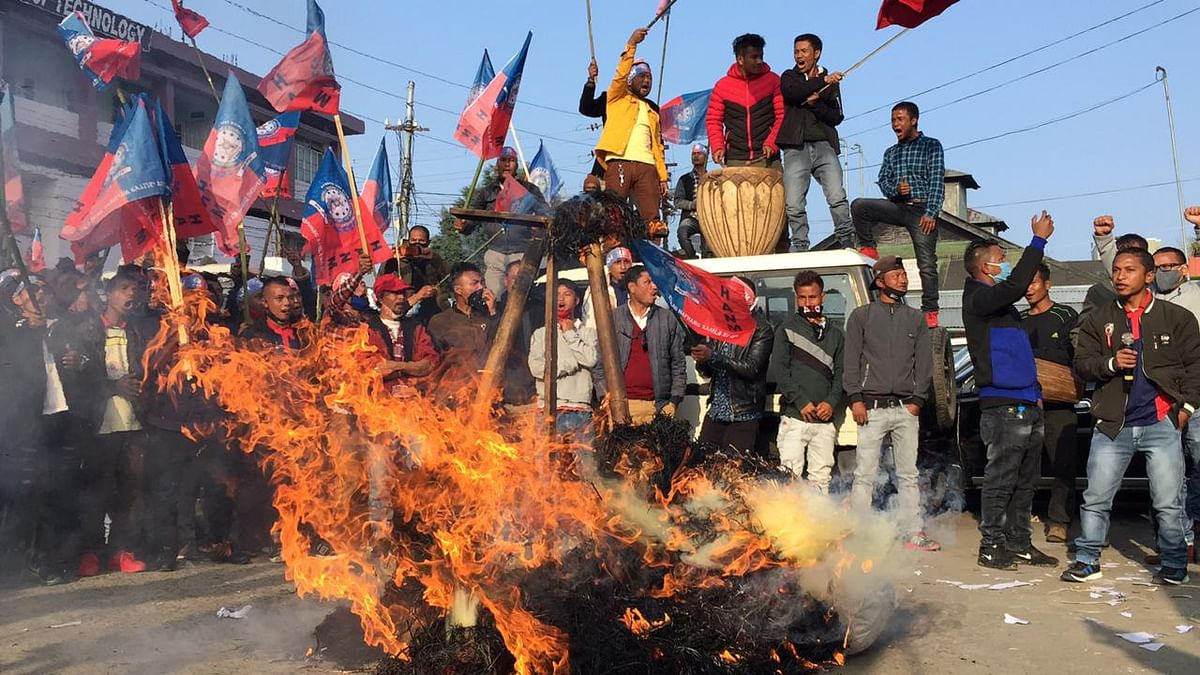 Meghalaya: Drumbeats echo in Shillong as pressure groups up the ante for ILP