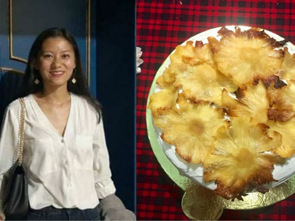 On Christmas, try this Naga baker's pineapple butterscotch cake recipe