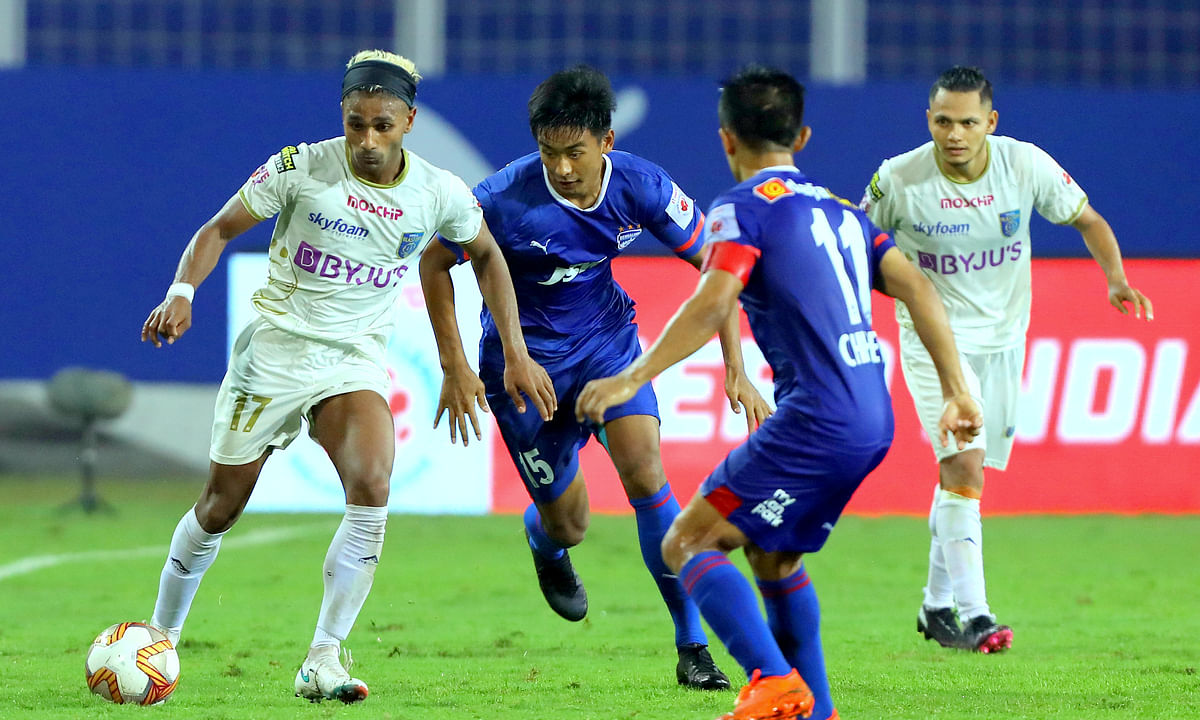 Wungngayam Muirang (M) is the first from Ukhrul playing at ISL