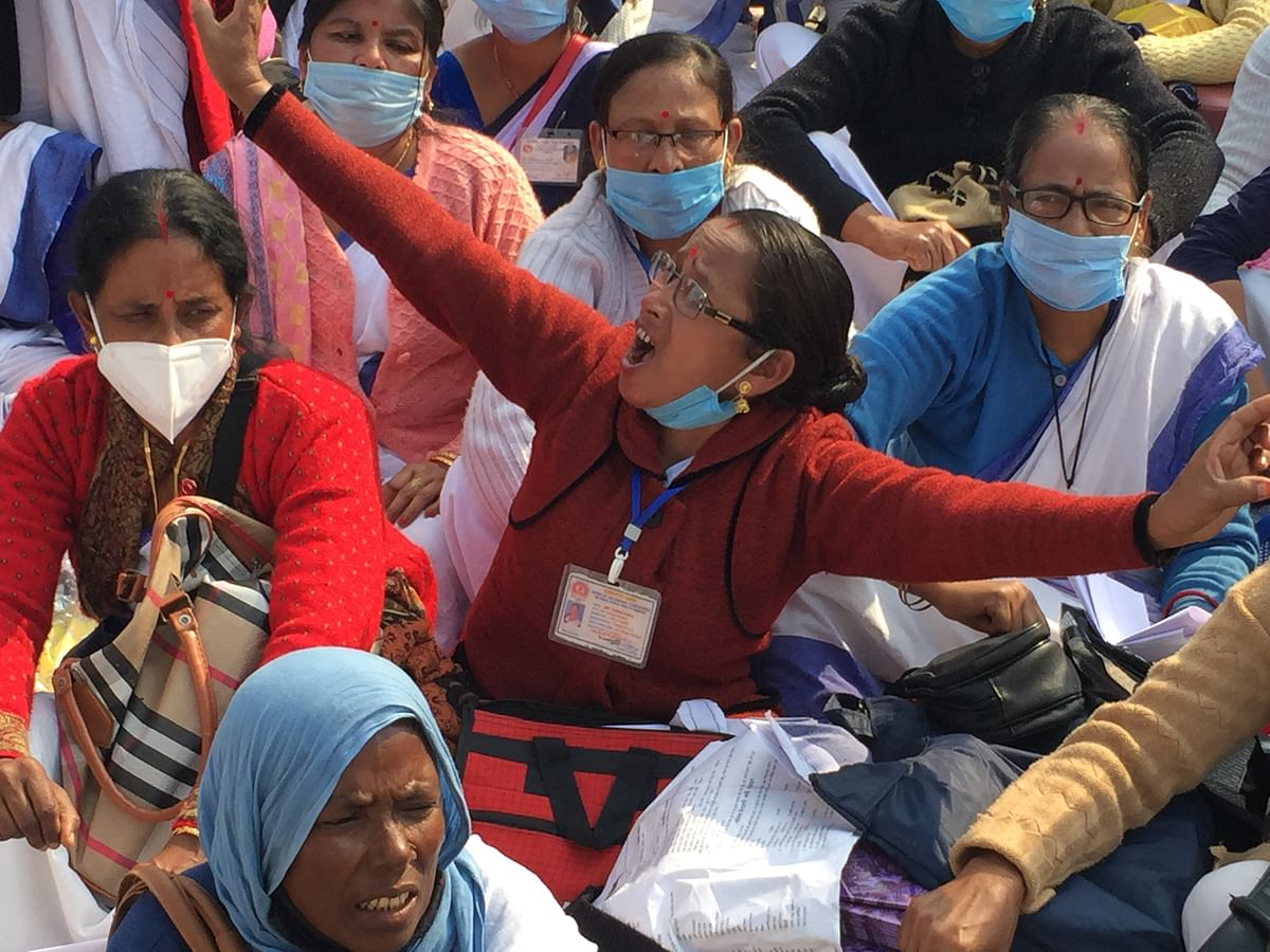 ASHA workers all over Assam to go on strike have put forward six demands in front of the State Government