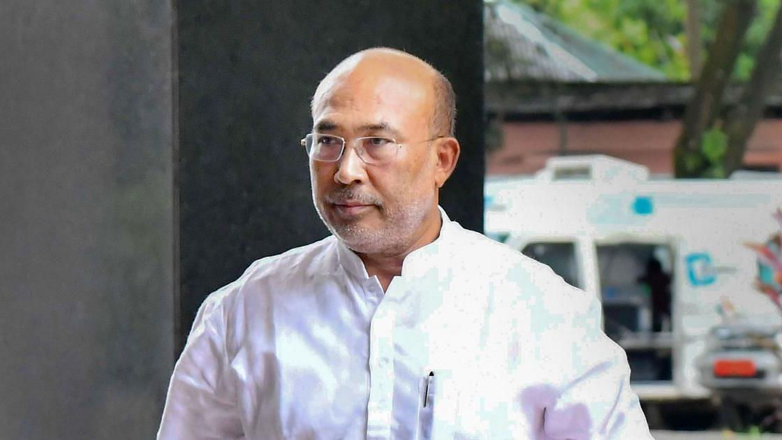 CM N Biren Singh graced the occasion on Wednesday