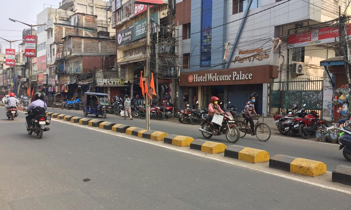 Most of the shops and establishments remained open on Tuesday