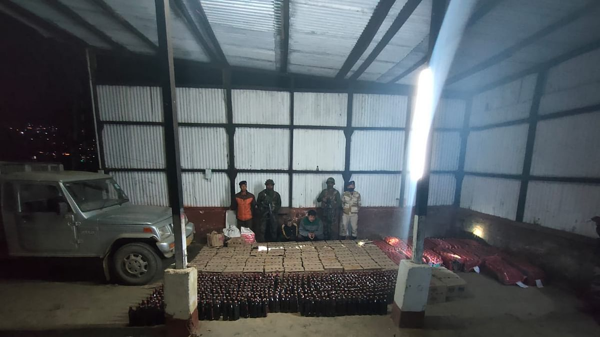 Nagaland: Illegal liquor worth Rs 18 lakh seized, two held