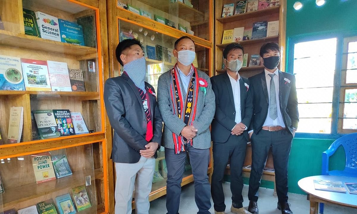 The library aims to address the urgent need of the returned students
