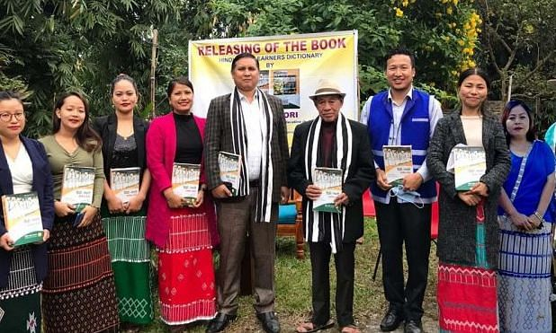 Hindi-Galo Learners' dictionary compiled by team of assistant professors and research scholars was released on Sunday