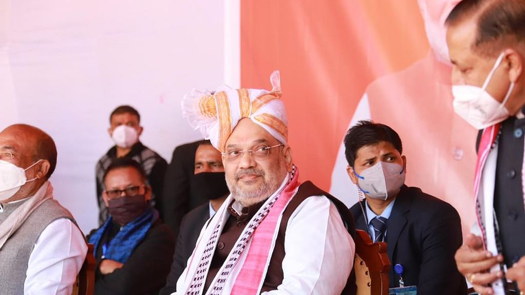 United Naga Council asks Amit Shah to recognise Naga flag and constitution