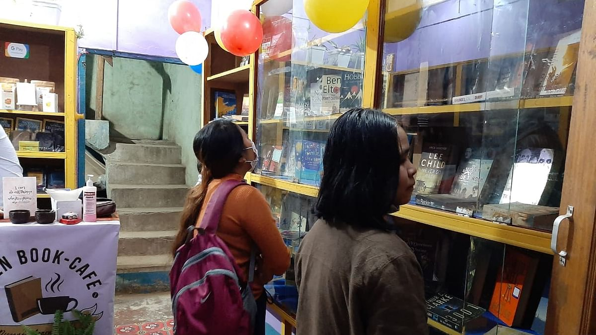 Manipur: First-of-its-kind book café-cum-public library opens in Chandel