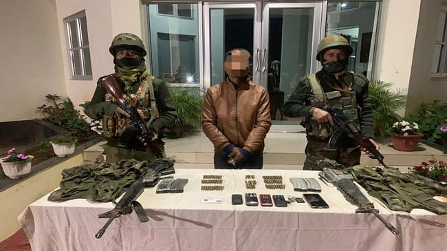 Security forces apprehend insurgent in Manipur
