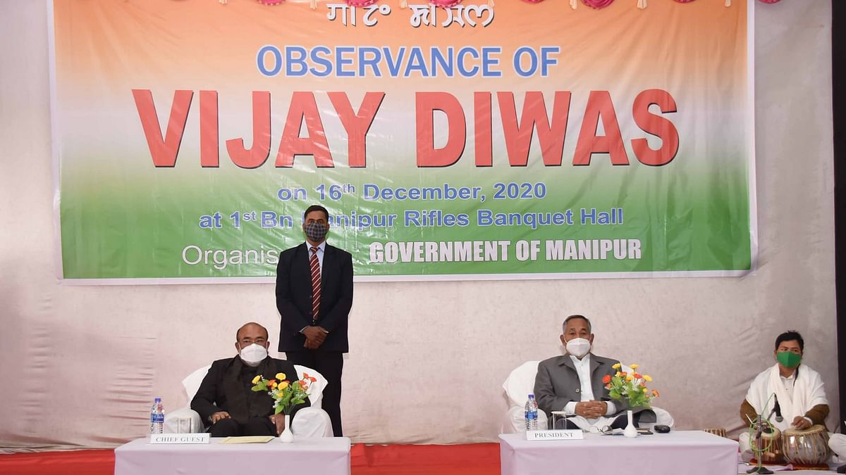 Manipur observes Vijay Diwas, pays tributes to martyrs of India-Pakistan war