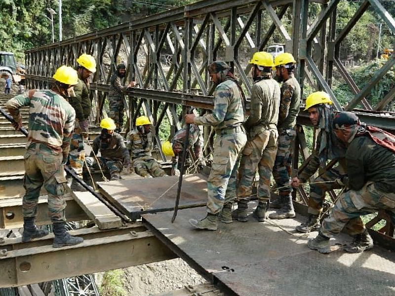 Indian Army reconstructs bridge over Irang river in Manipur, restores NH-37 connectivity