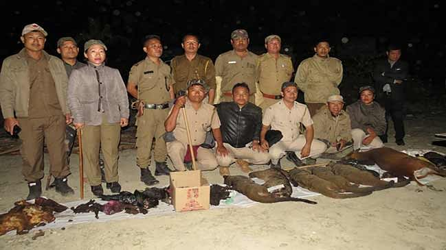 Arunachal: Animal carcass and meat confiscated from Doimukh check gate