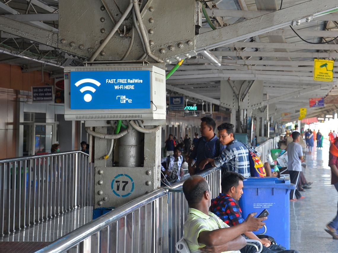 Now, 370 Northeast Frontier Railway stations have free Wi-Fi