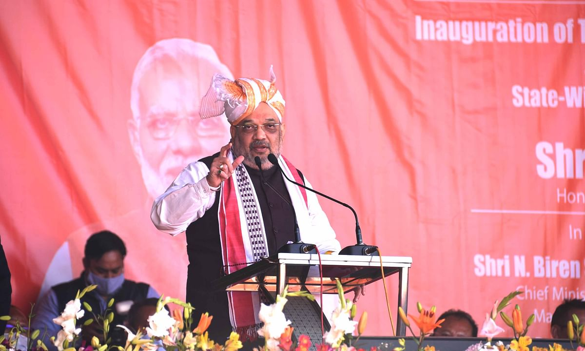 Union Home Minister Amit Shah in Manipur