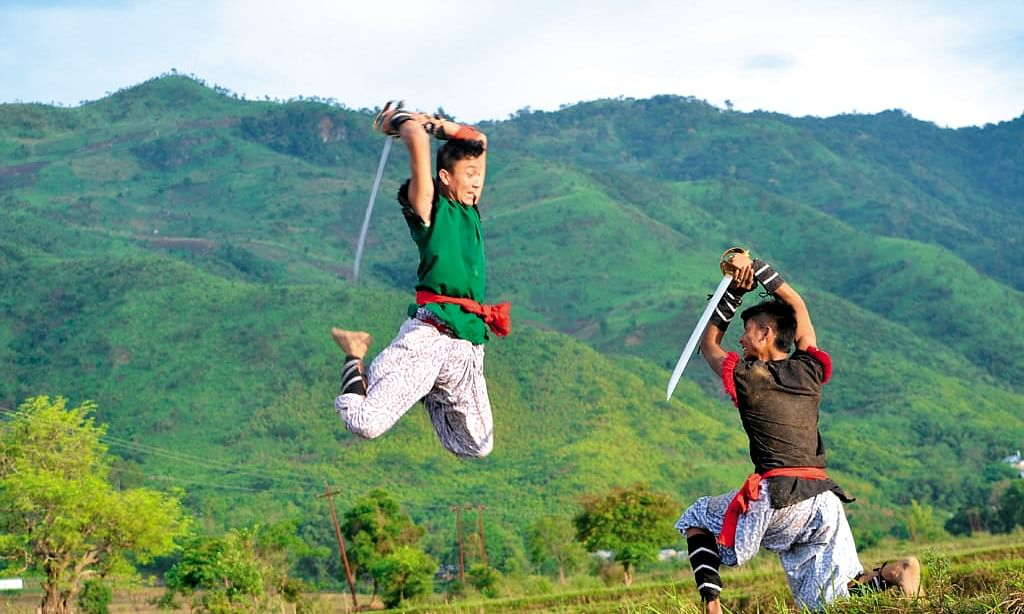 Thang-Ta is an art of sword and spear