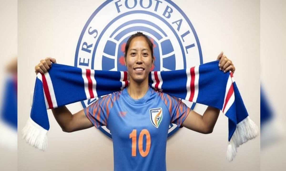 In January 2020, Devi signed a professional contract of 18 months with Scottish Women's Premier League club Rangers, making her one of the few Indian women to become a professional footballer