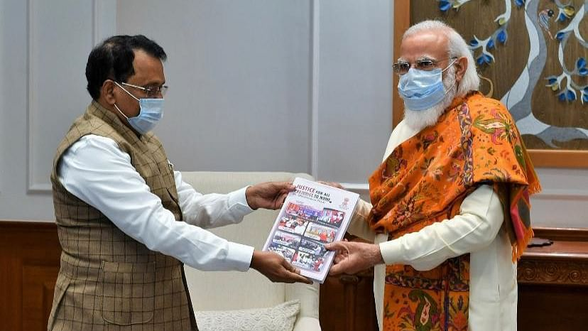 Mizoram governor meets PM Modi over poor health infrastructure