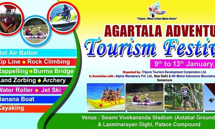 Agartala Adventure–Tourism Festival will start from January 9