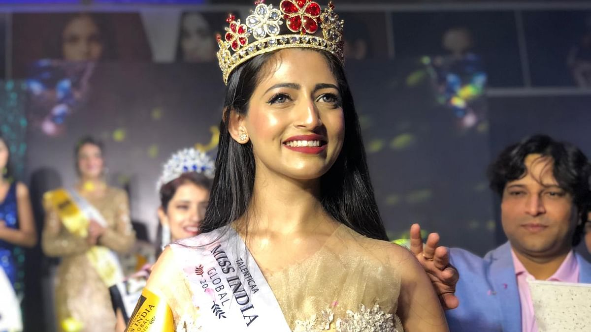 Gargee Nandy during the Talentica Miss India Global, 2020 held at Goa
