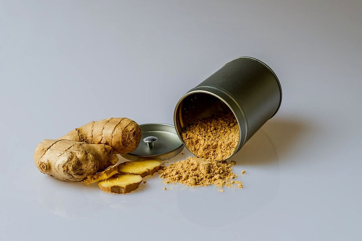 Ginger will make the body feel light and energetic