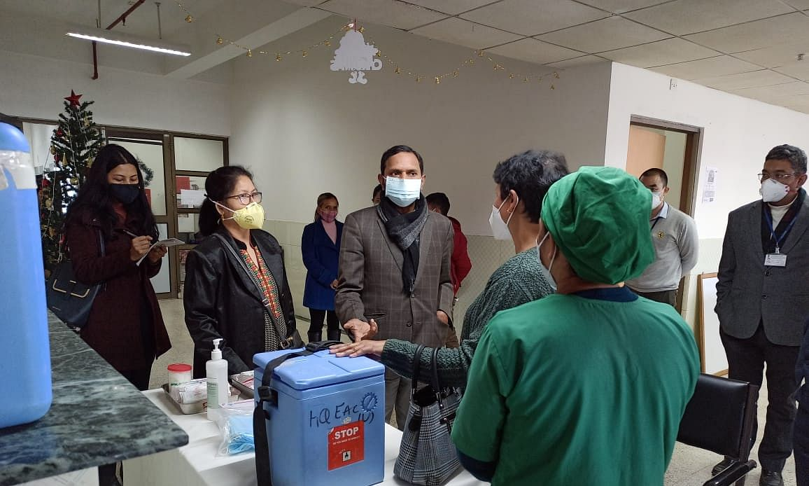 Meghalaya conducts successful Dry Run for COVID-19 vaccination