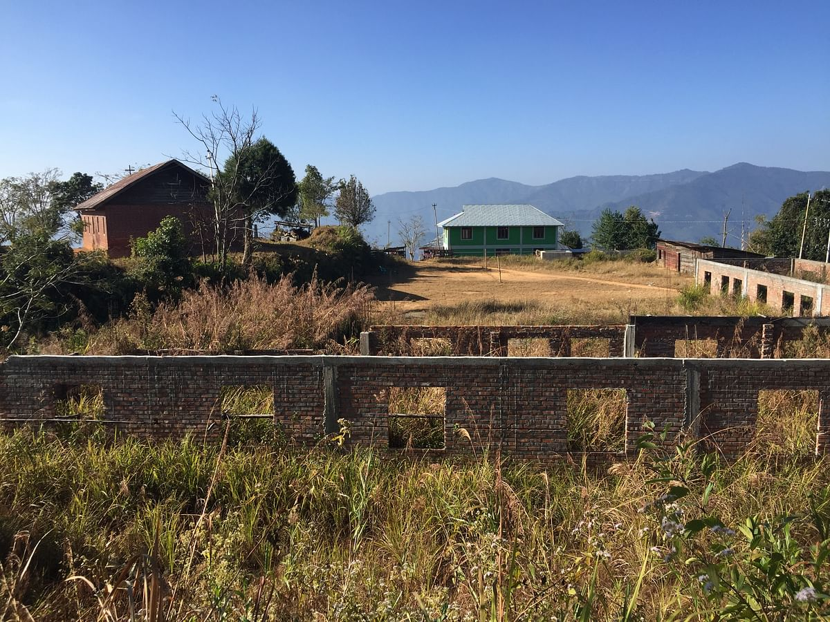 Manipur: Locals angry at delay in construction of only high school in Ningthi village