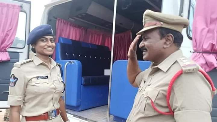 Viral: Police dad saluting Police daughter is winning hearts