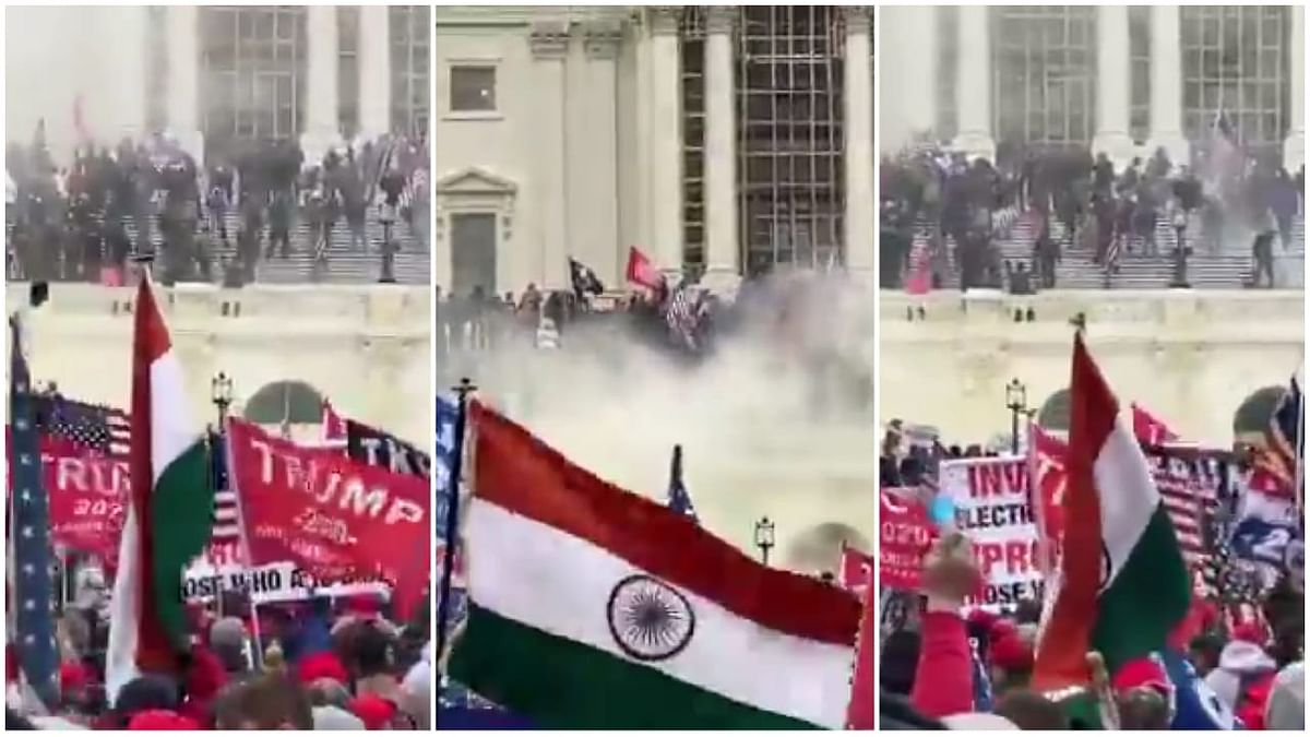 Every large crowd not a cricket match: Twitter reacts to Indian flag at Capitol Hill