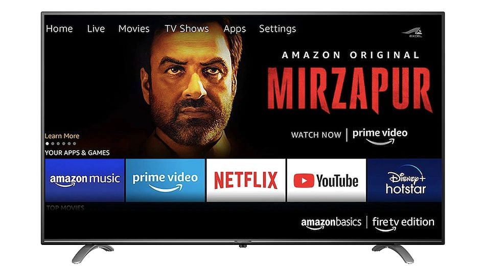 AmazonBasics Fire TV edition Ultra-HD TVs launched in India, price Starts at Rs 29,999