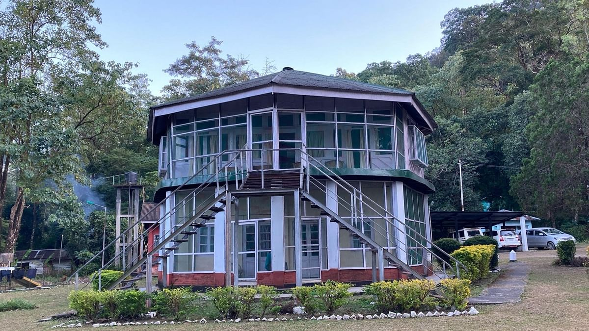 Forest guest house at the Namdapha Tiger Reserve.