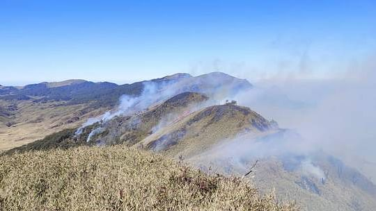 Dzukou: Indian Army, Assam Rifles join efforts to fight wildfire