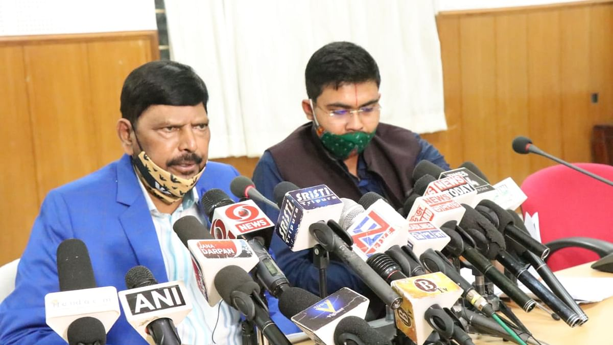 Tripura: Ramdas Athawale launches state unit of Republican Party of India