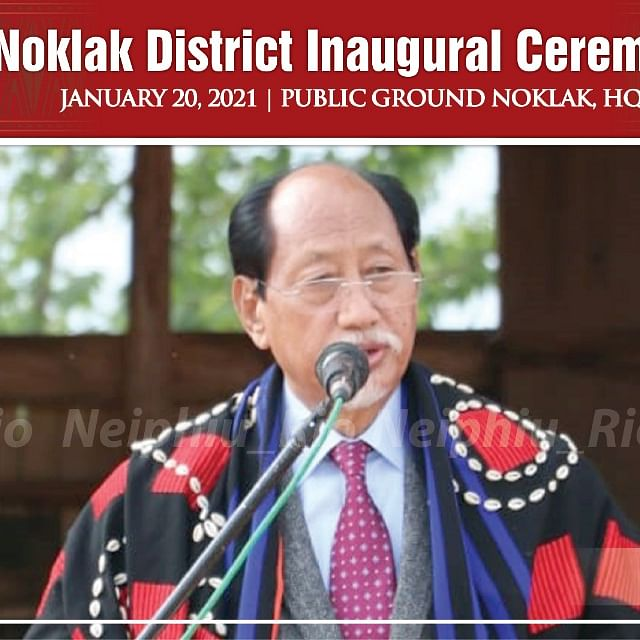 Nagaland: CM formally inaugurates Noklak, state's newest district