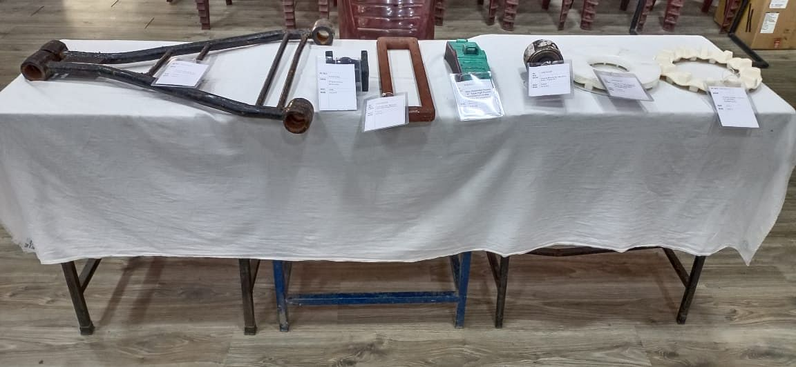 The exhibition aims to encourage local entrepreneurs to come forward, make various items locally, and to promote the vendor base for procurement of items