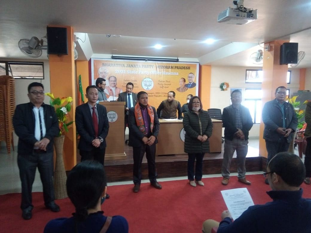BJP announces first phase of candidates for Aizawl Municipal Corporation polls