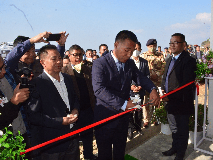 Nagaland: Zunheboto district gets first civil helipad