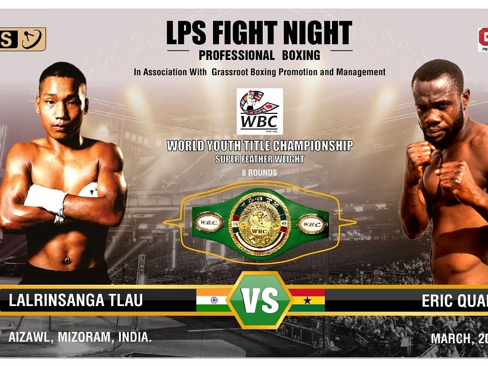 Mizoram set to hold first professional boxing event 'WBC World Youth Title'