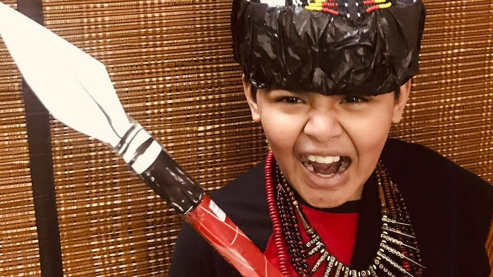 Watch: This Delhi kid loves Nagaland so much, he made his own Ao Naga attire