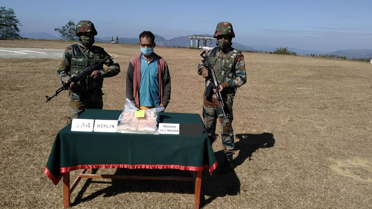 Mizoram: One held with heroin worth Rs 81.20 lakh
