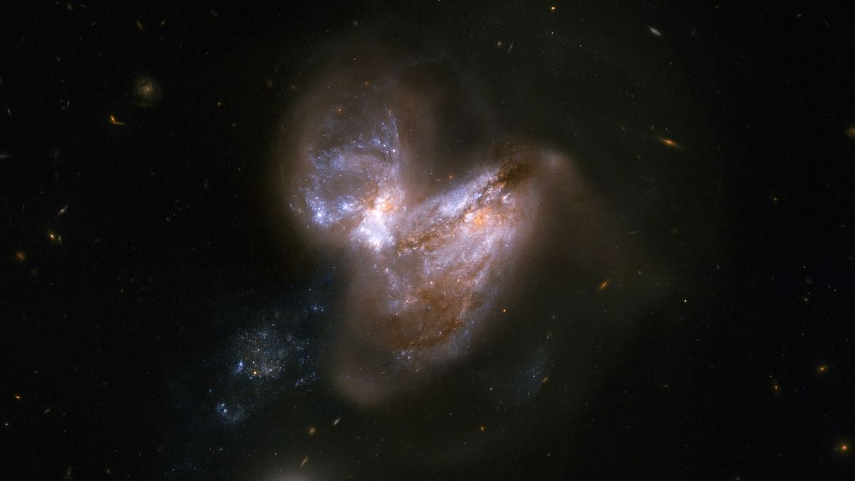 What happens when galaxies collide? See NASA pics here