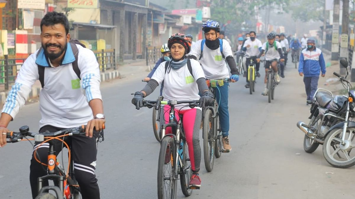 Cycling is considered one of the best activities for keeping oneself healthy