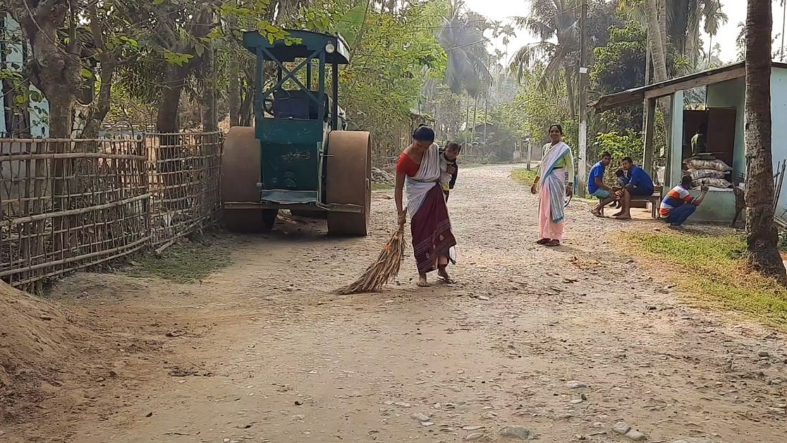 Cleanliness drives have become a routine for most residents of the village